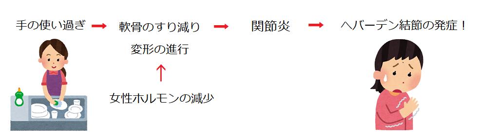 ヘバーデン結節学会(東京)発症